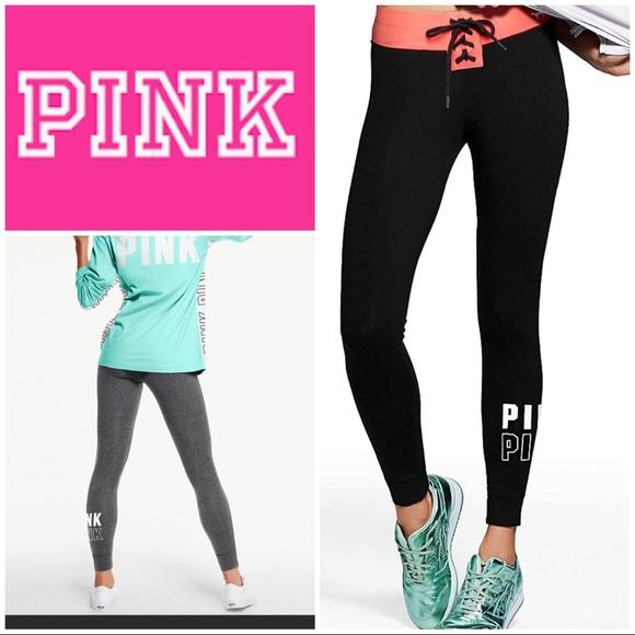 c2919bf3d9005 PINK Victoria's Secret Pants | Pink Victorias Secret Campus Yoga ...